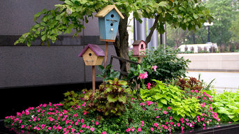 Bird House Landscaping Project on Wacker Chicago