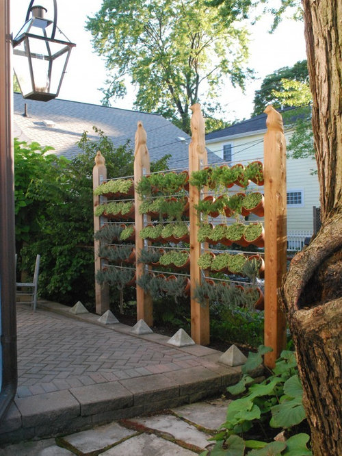 Hanging herb garden ideas pictures remodel and decor - Fabriquer un jardin en hauteur ...