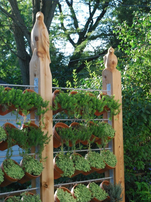 Outdoor Hanging Herb Garden Part - 46: Inspiration For A Contemporary Landscaping In Detroit.