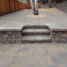 Transitional  by Black Diamond Paver Stones & Landscape Inc