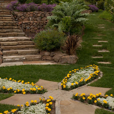 Traditional Landscape by Design Focus Int'l Landscape Architecture & Build