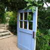 Artful Salvage: Old Doors Decorate the Garden