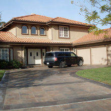Stained Concrete Driveways