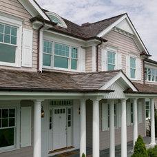 Traditional Exterior by Platinum Site Development