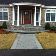 Traditional Landscape by MJ Russo Construction, LLC