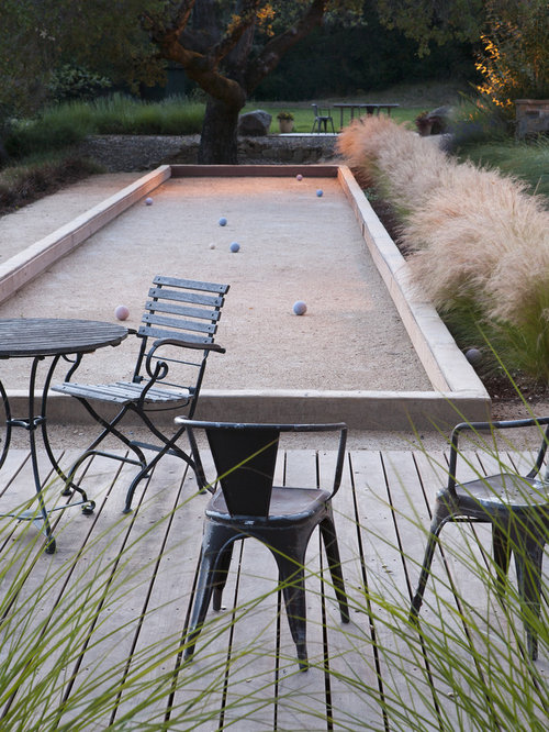 Oyster Shell Bocce Ball Court Home Design Ideas Pictures