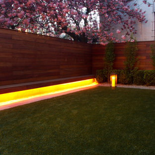This is an example of a modern rooftop landscaping in New York.