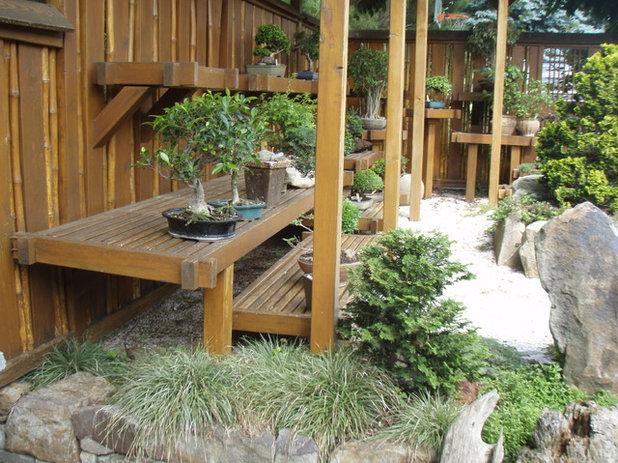 Asian Landscape by Garden Architecture, LLC