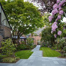 Traditional Landscape by DeForest Architects