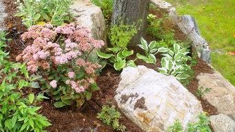 Boshkung garden - Landscape design & planting. Haliburton, Ontario