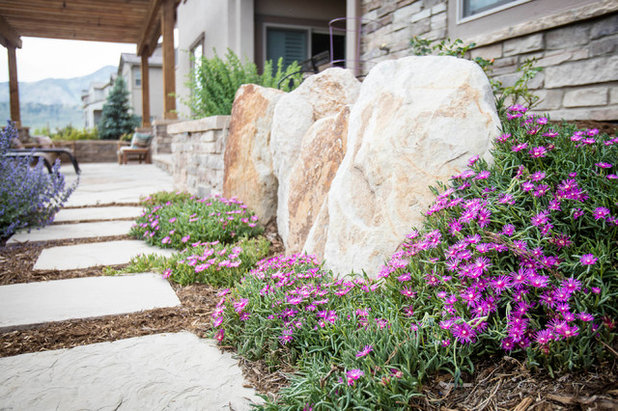 Contemporary Landscape by C&H Landscaping