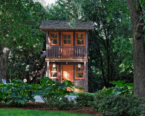 Two Story Playhouse Houzz