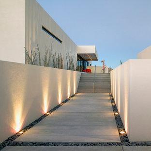 Réalisation d'un jardin minimaliste.