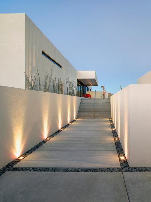 Modern landscape ideas designs remodels photos for Home landscape lighting design