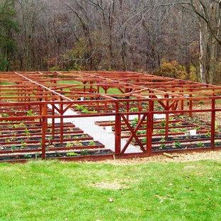 Deer proof gardening houzz for Teich design new york