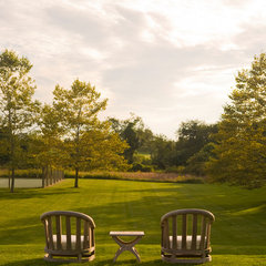 traditional landscape by David Scott Interiors