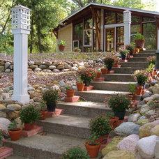 Traditional Landscape by Allegretti Architects, Inc.
