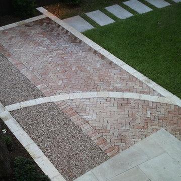 Bridlepath Courtyard Hardscape