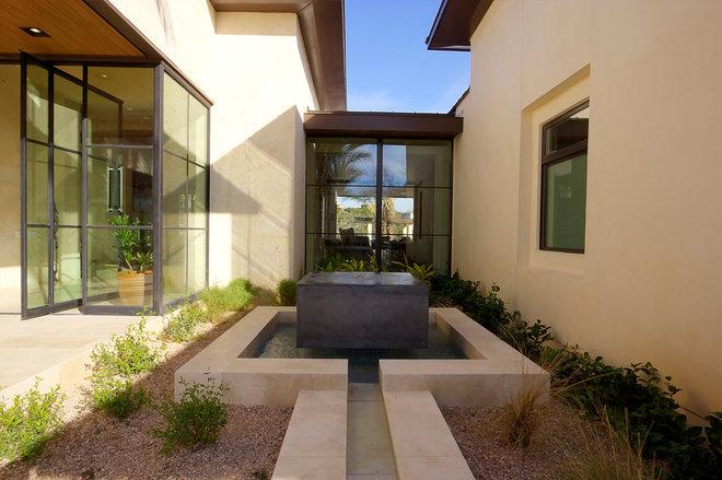 Contemporary Landscape by Rehme Steel Windows & Doors