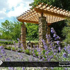 Traditional Landscape by The Cornerstone Landscape Group