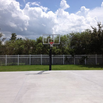 Bryan S's Pro Dunk Platinum Basketball System on a 40x50 in Orlando, FL