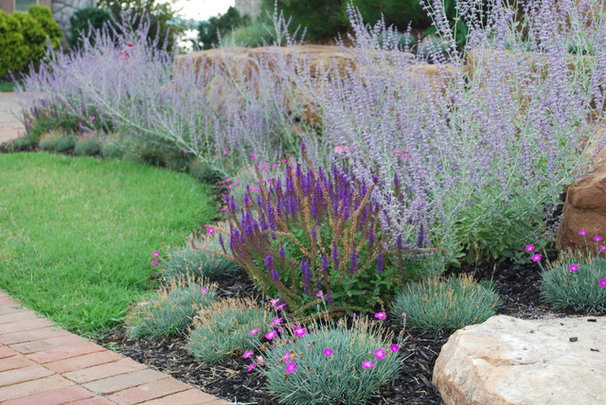 Eclectic landscape by jay sifford garden design for Low maintenance perennials zone 4