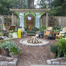 Rustic Landscape by Cultivators Design and Landscape