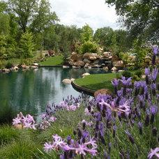 Eclectic Landscape by Bushnell Gardens & Landscape
