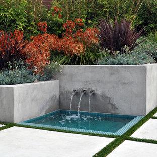 Concrete Half Wall Houzz