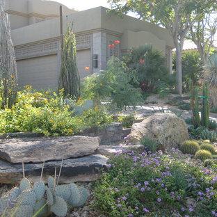 Design ideas for a mediterranean landscaping in Las Vegas.