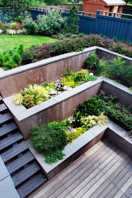 Contemporary Landscape by Groundswell Design Group, LLC