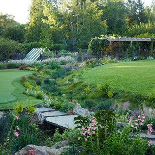 Ispirazione per un giardino american style