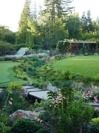 Craftsman Garden by David Thorne Landscape Architect