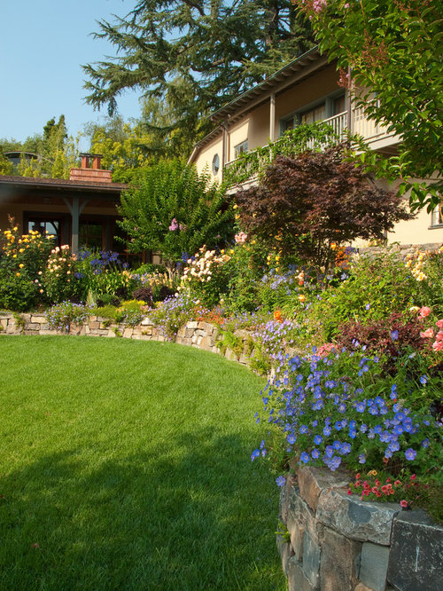 Stone Flower Beds Ideas Pictures Remodel And Decor