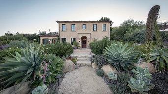 California Tuscan Landscape + Kitchen Garden | Santa Barbara CA