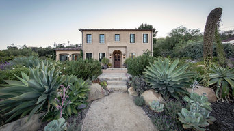 California Tuscan Landscape + Kitchen Garden | Santa Barbara CA