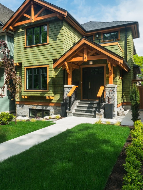 Landscaping Ideas Vancouver : For a mid sized craftsman front yard landscape in vancouver