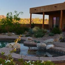 Southwestern Landscape by Landscape Design West, LLC