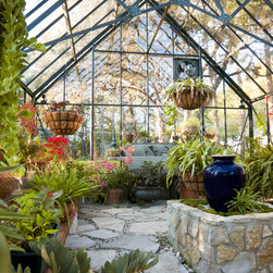Cape Cod Greenhouse - A variety of Cape Cod Greenhouses in several colours, foundations, and custom elements.