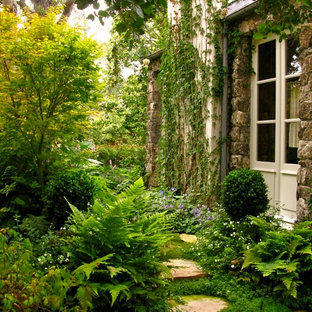 Photo of a french country backyard landscaping in Other.