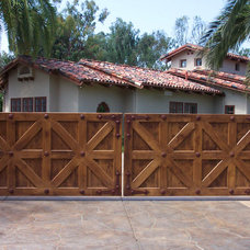 Contemporary Exterior by Carriage House Door Company