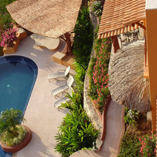 Tropical Landscape by Luis Trevino. Architect