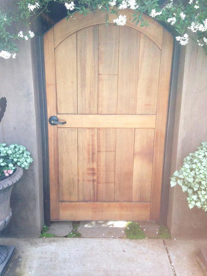 Cedar Gate to Secret Garden