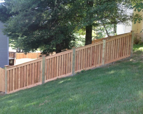 Shadow Box Fence Home Design Ideas Pictures Remodel And