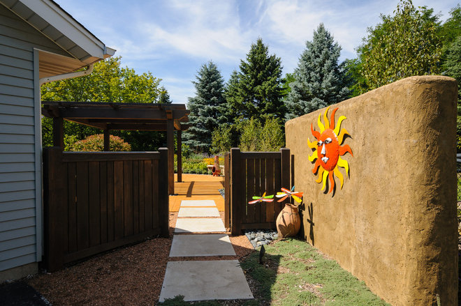 Eclectic Landscape by Ginkgo Leaf Studio