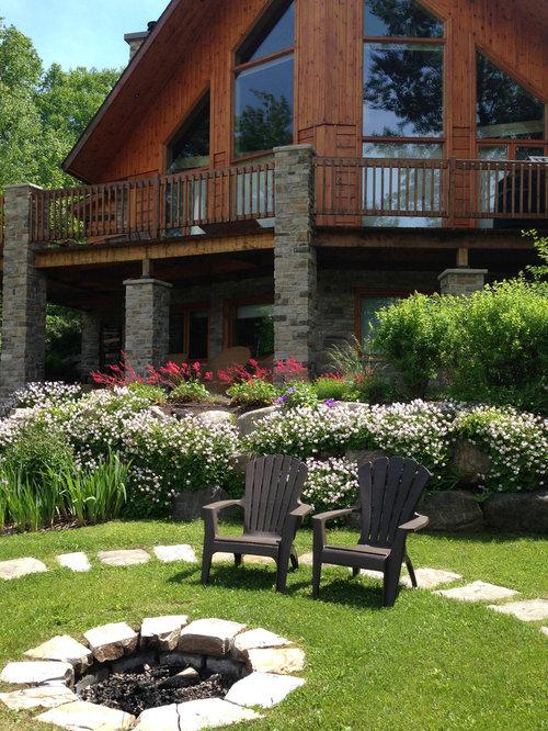 Jardin montagne montr al photos et id es d co de jardins for Foyer exterieur montreal