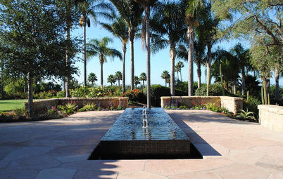 Gardens Tap Into Rill Water Features