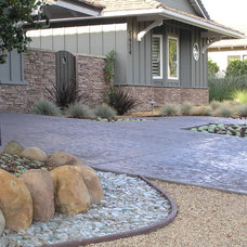 Contemporary Landscape by Charles McClure -  Professional Site Planning
