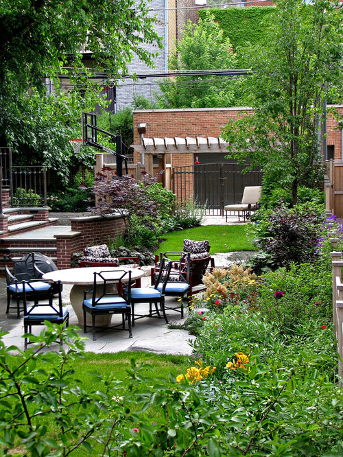 narrow lot landscaping home design ideas pictures