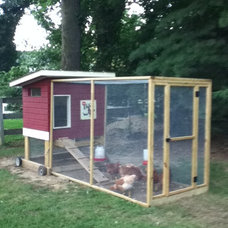 Traditional Landscape Chicken Coop